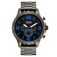 Fossil JR1478 Men's Nate Chronograph Stainless Steel Watch