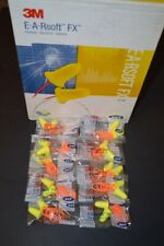 3m E A Rsoft Ear Plugs Fx Corded 10 Pack Noise Reduction 33db Neon Yel Earsoft