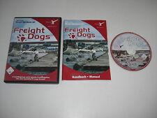 FREIGHT DOGS Pc Cd Rom Add-On Microsoft Flight Simulator Sim 2004 FS2004