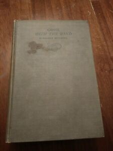 Gone with the Wind book First Edition Oct printing 1st - 1936 Margaret Mitchell