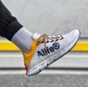 Reebok Zig Kinetica Alife Hommes Running Fit Gym Baskets Chaussures UK 8.5 EU 42.5 £ 120