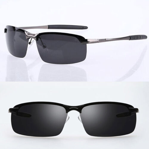 Men/'s UV400 Polarized Vintage Sunglasses Outdoor Sports Driving Glasses Eyewear