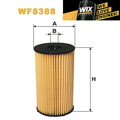 1x Wix Fuel Filter WF8388 Eqv to Fram C10308ECO