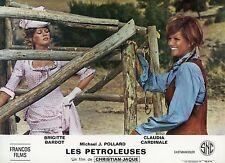 SEXY BRIGITTE BARDOT CLAUDIA CARDINALE LES PETROLEUSES 1971 LOBBY CARD #16