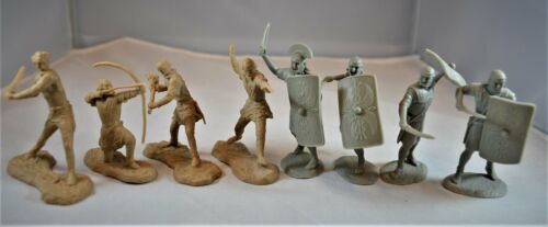 """TSSD22 /""""Romans and Barbarians Add-On Set/"""" 54mm Plastic Historical Toy Soldiers"""