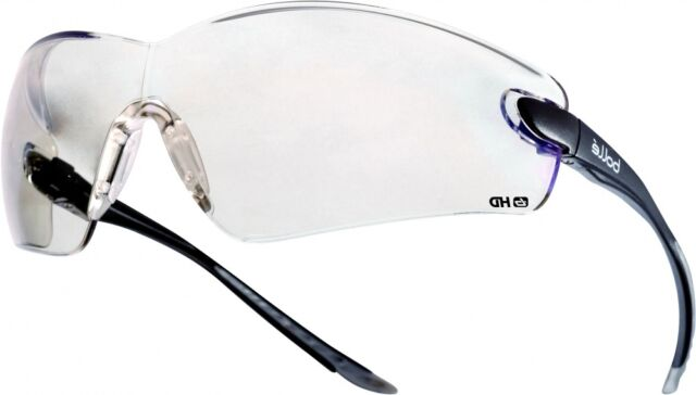 Bolle COBRA Occhiali Di Sicurezza antigraffio HD lenti trasparenti COBHDPI