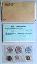 USA 1959 Proof Set Philadelphia in Umschlag Silber PP pollierte Platte 1c-50c