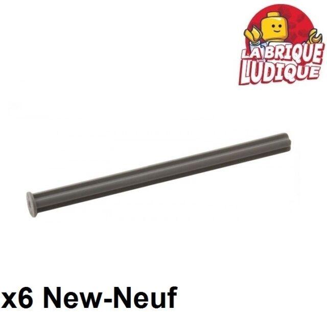 Lego Technic Axle 8L with Stop Dark Grey x8 55013