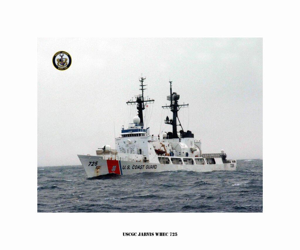 USCGC Jarvis WHEC 725  ---USCG, United States Coast Guard Ship Photo Print