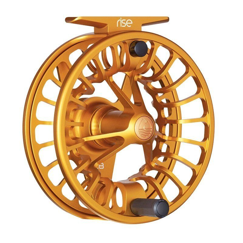 Redington Rise Fly Reels - Size 9 10 - color Amber - New