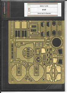 Green Strawberry Star Wars AT-St Photo Etch Details, Bandai Kit 1/48 4017 st