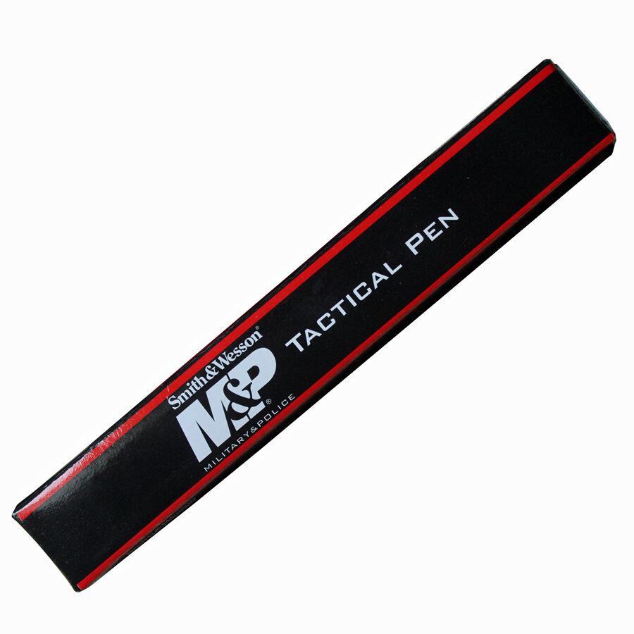 Smith and Wesson Tactical Pen Security Kugelschreiber Kugelschreiber Kugelschreiber schwarz mit Schutzkappe 5ead8e
