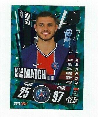 Man of the Match Champions League 20//21 2020 2021 MM18 Mauro Icardi