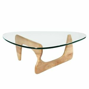 Noguchi Tribeca Coffee Table Tempered Glass Available In Multi Colors Ebay