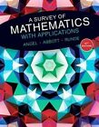 A Survey of Mathematics with Applications by Dennis C. Runde, Christine D. Abbott, Allen R. Angel (Hardback, 2015)