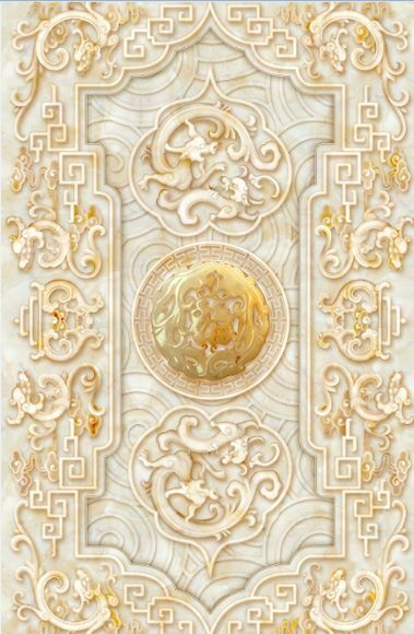 3D Stein Blume pattern 058 Fototapeten Wandbild Fototapete Bild Tapete Famili