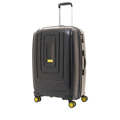 NEW American Tourister Lightrax Hardside Spinner Case Large 79cm Black 4.4kg