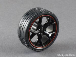 Bien 1/18 Ebbro Honda Civic Type R Fk2 Jeu Jantes-noir Avec Bord Rouge - 141588-afficher Le Titre D'origine