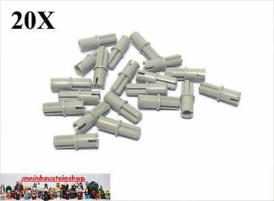 Affidabile 20x Lego ® 6562/3749 Technic Asse Pin Connettore Vecchio Grigio Chiaro-mostra Il Titolo Originale