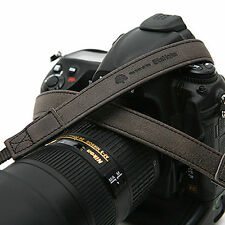 MATIN D-SLR RF Mirrorless Camera Leather Neck Shoulder Strap Vintage-20[D.Gray]