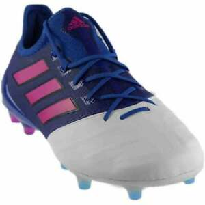 finest selection 6f2dd 5070e Details about adidas ACE 17.1 LEATHER FG Blue;White - Mens - Size 7.5 D