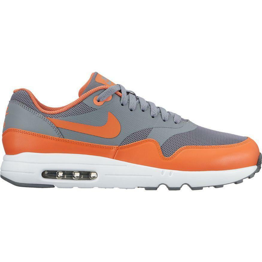 NIKE AIR AIR NIKE MAX 1 ULTRA 2.0 ESSENTIAL 875679 005 COOL GREY/TERRA ORANGE-WHITE 3d14fc