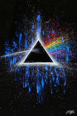 PINK FLOYD - DARK SIDE OF THE MOON - ART POSTER - 24x36 FISHWICK MUSIC 51618