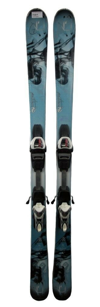 K2 Potion 76 Skis 156 cm with Warden GC 12.0 Bindings - USED - GOLD