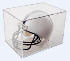 Football Mini-Helmet Clear Display Box Holder Case BallQube NEW