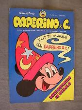 PAPERINO E C. #  53 - 4 luglio 1982 - CON INSERTO - WALT DISNEY - OTTIMO