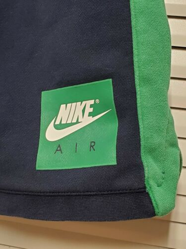 90's Nike Air Red tag Sweat Shorts Grey Green Size