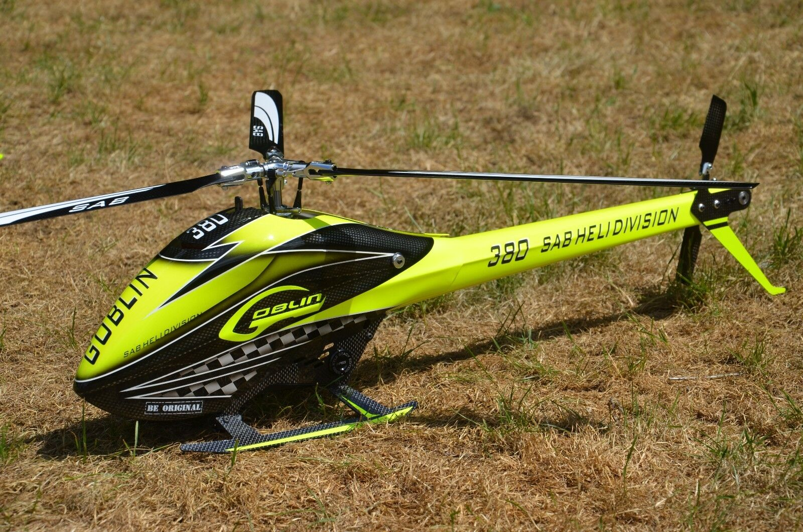 Sab Goblin 380 Ready to Fly RTF 3 Leaves Kyle Stacy Design + Axon + Mz 24 Pro