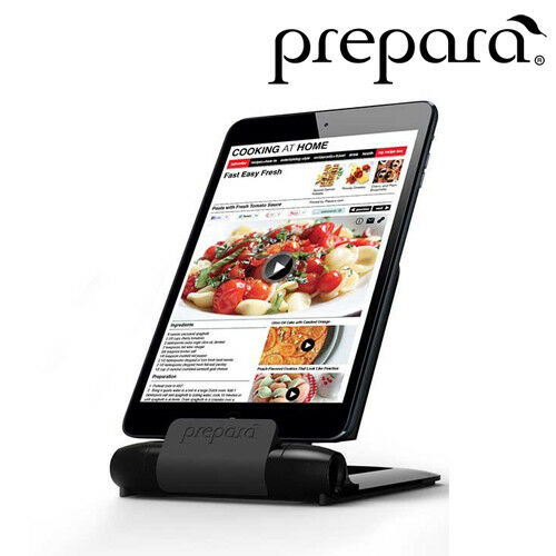 NEW Prepara Iprep Tablet Stand Tablet Holder Black Tablet NOT INCLUDED 76092PI