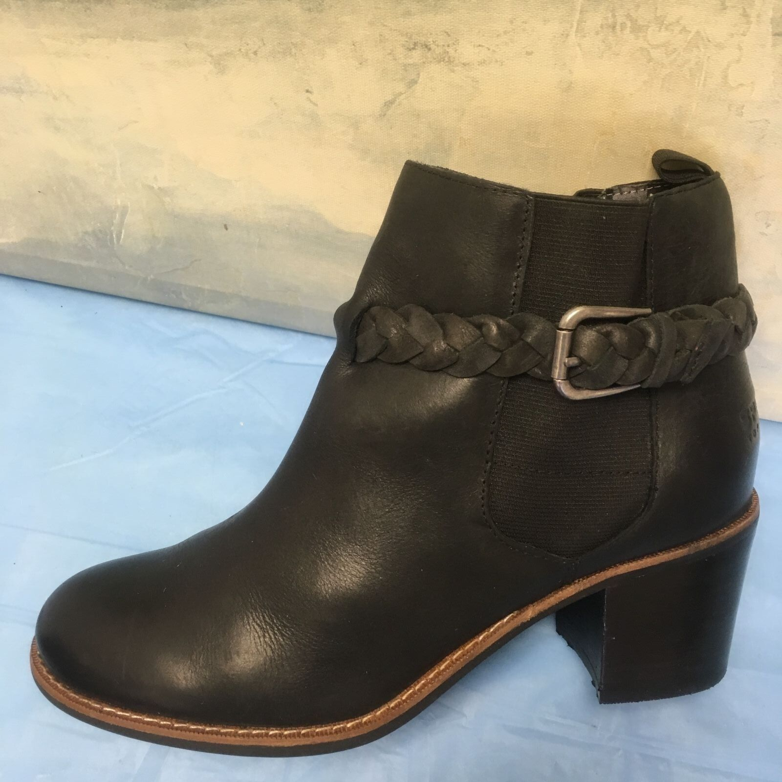Sperry Top Sider Black Womens STS80224 Ankle Boots. Size Great Condition 8.5 M