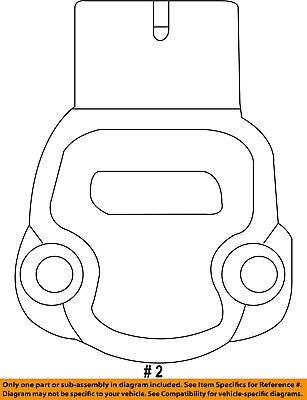 4686684AB MAP Sensor Fit For Chrysler Pt Cruiser Sebring Voyager 2.4L Town 3.3L