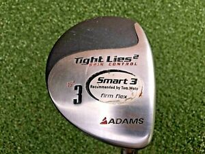 Adams-Tight-Lies-2-Spin-Control-3-Wood-15-RH-Firm-Graphite-Nice-mm0202