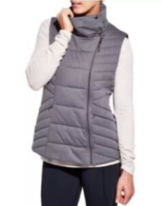 NWT-99-CALIA-by-Carrie-Underwood-Women-039-s-Puffer-Vest-Size-XS-Gray