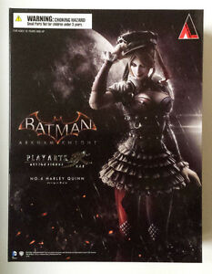 Harley-Quinn-Arkham-Knight-Play-Arts-Kai-Square-Enix-NISB-Authentic