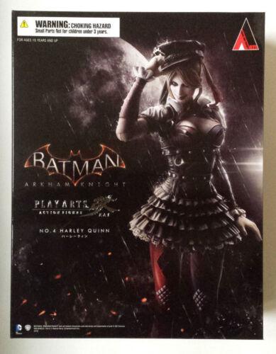 Harley Quinn Arkham Knight Play Arts Kai Square Enix NISB Authentic!