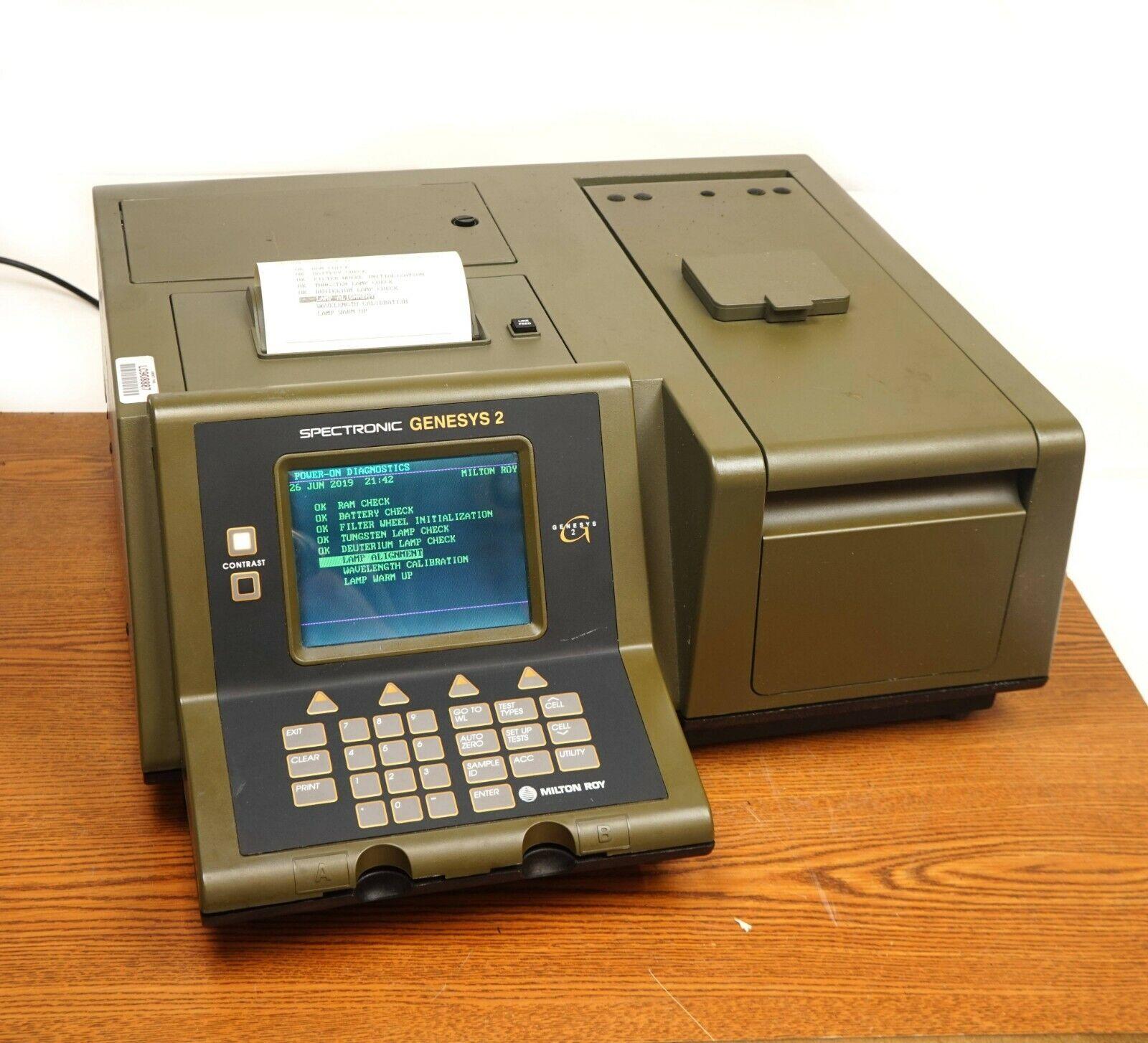 Spectrophotometer Genesys 2
