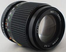 PETRI 135mm f3.5 Manual focus PENTAX PK lens fits DSLRs K5 K3 K30 K50 K-S1 K-S2