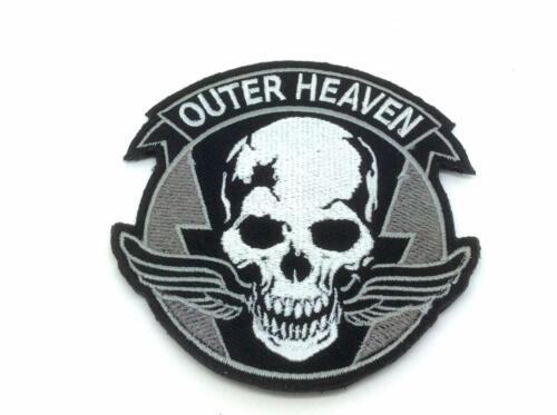 Outer Heaven Metal Gear Solid Cosplay Embroidered Patch