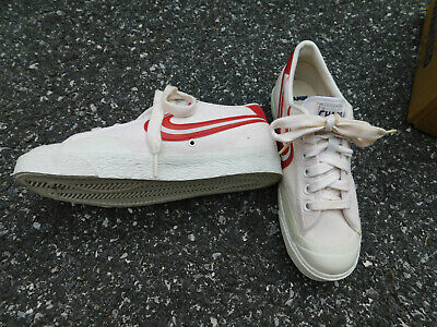 Vtg CHAMPS Sneakers Canvas off white