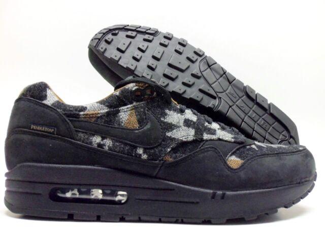 Nike x Pendleton Air Max 90 QS Black & Ale Brown | END.