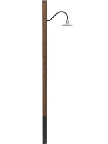 Beli-Beco Lampe Spur 0 190621 Buchen-Holzmast Lampe mit 3,2V SMD