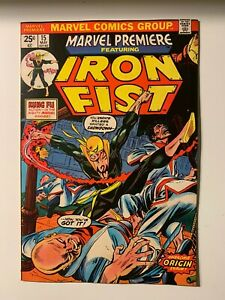 Marvel-Premiere-Iron-Fist-Issue-15-8-0-VF-Condition-High-Grade