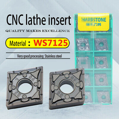 10PCS CNMG120408-BF WS7125 CNMG 432 CNC Carbide inserts for stainless steel