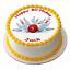 10 PIN BOWLING ALLEY SKITTLES 7.5 PREMIUM EDIBLE ICING CAKE TOPPER TEN TENPIN D2