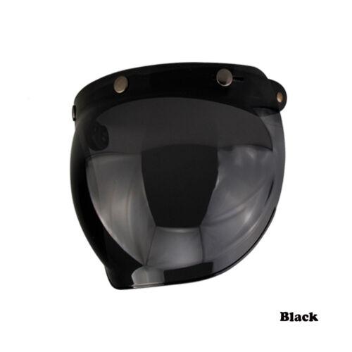 Motorrad Helm Linse Rahmen Durable Windschutzscheibe Bubble Visors WindShield