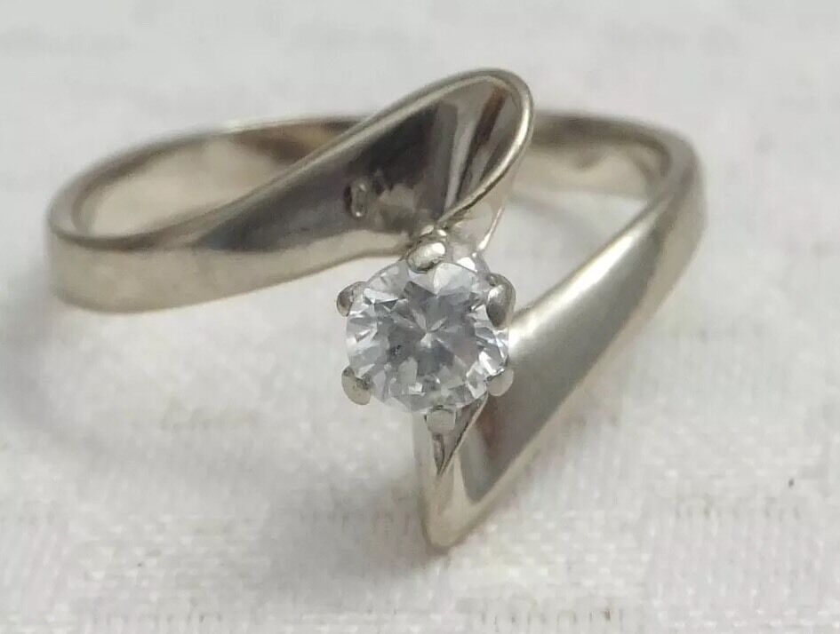 Diamond  Engagement Ring 18ct gold